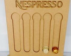 Porta cápsula de café Nespresso mdf