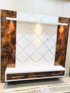 Lcd Unit Design, Lcd Wall Design, Modern Tv Unit Designs, Tv Unit Interior Design, Tv Unit Furniture Design, Living Room Tv Unit Designs, Bedroom Cupboard Designs, Bedroom Furniture Design, Bed Design