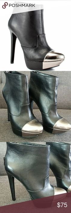 Jessica Simpson Essas Ankle Pumps Super hot pumps, great condition with tons of life left!! These are so cute with a mini skirt, hot shorts or skinny jeans. You won't be disappointed! Bundle with some of my other super sexy pumps or items and save even more!! Happy Posting! Jessica Simpson Shoes Ankle Boots & Booties