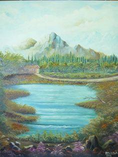 "\""paisaje de montaña\"" de Mihai Balica @ VirtualGallery.com"