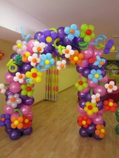 The Playful And Charming Aspects Of Balloon Art - Dekor Ideen Trolls Birthday Party, Troll Party, Birthday Parties, Birthday Ideas, Balloon Columns, Balloon Arch, Balloon Decorations, Birthday Decorations, Balloon Ideas