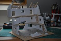 Excommunicate Traitoris: Building, erm, well, Buildings. Tutorial for Mordheim style building