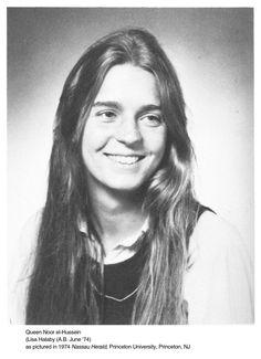 Queen Noor, Lisa Halaby A.B. June '74 Princeton University