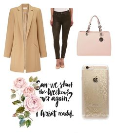 """""""Ny"""" by carlos-lucente on Polyvore featuring Miss Selfridge, 7 For All Mankind, MICHAEL Michael Kors, Rifle Paper Co, women's clothing, women, female, woman, misses and juniors"""