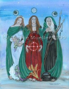 Blessings of the Triple Goddess by Mickie Mueller