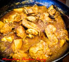 A traditional Mauritian Chicken Curry just the way my mam and granny used to make. It's fancy free yet so delicious