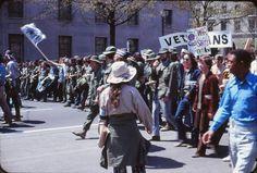 Vietnam War Protests, Washington April 1971 (Wikipedia)