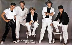 Duran Duran poster.  Every 80s kid alive owned this poster.  I owned it and hung it proudly in my bedroom.