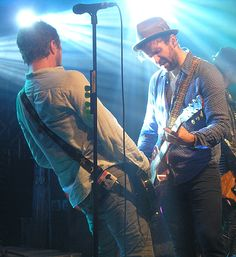Colin and John-Angus MacDonald of the Trews.  Sudbury Events Centre, Sudbury, ON Dec. 13/14