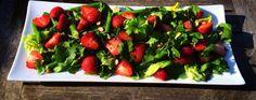 Sommer salat med asparges og jordbær | Kreamors Køkken