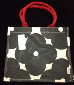 7e5955979e Orla Kiely Abacus Bag Tote Juco Multi Black White Tesco Sturdy Gift Apple  Flower