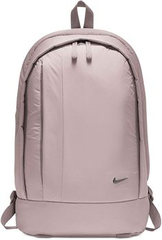 Keep your day neatly organized with this Nike Legend backpack, a roomy carryall with three compartments that organize your essentials. A padded back and breatha