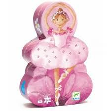 Djeco Silhouette Puzzle - Ballerina with Flower and thousands more of the very best toys at Fat Brain Toys. This 36 piece puzzle comes in a beautiful Ballerina-shaped box! Ballerina Silhouette, Flower Silhouette, Baby Toys, Kids Toys, Little Ballerina, Ballerina Room, Puzzle Toys, Puzzle Djeco, Changing Tables