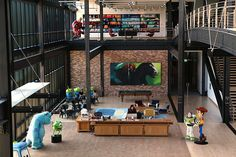 9 of the Coolest Things on the Pixar Campus | Whoa | Oh My Disney