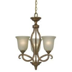 Emmett 3-Light Shaded Chandelier
