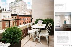 distressed metal furniture for the balcony or backyard - yummy!
