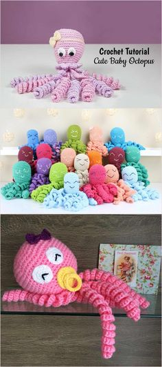 Crochet Cute Baby Octopus