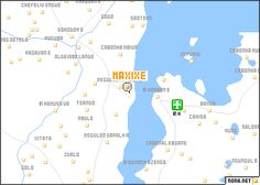 map of Maxixe