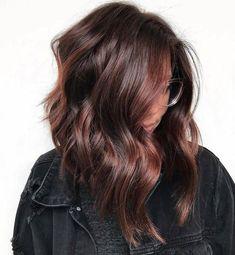 Balayage Auburn, Balayage Hair, Light Brown Hair, Dark Hair, White Hair, Blue Hair, Pretty Hairstyles, Brown Hairstyles, Beautiful Brown Hair