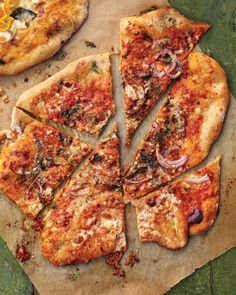 Pizza with Anchovies, Red Onion, and Oregano Recipe
