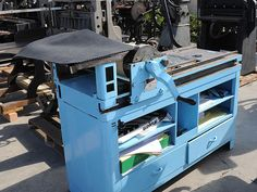 Vandercook press that I was THIS close to buying by lindsey_muir, via Flickr