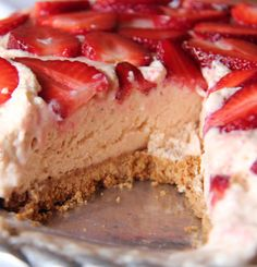 ETRO STRAWBERRY FRIDGE TART  Ingredients:  Biscuit base 1 packet Tennis biscuits, crushed 1 t ground cinnamon 90 g butter, melted  ...