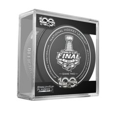 Nashville Predators vs. Pittsburgh Penguins 2017 Stanley Cup Final Game 2 Game Puck Cube