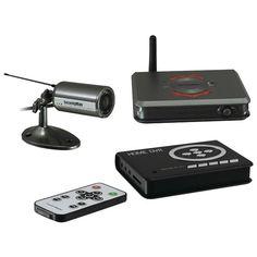 Outdoor Wireless Camera System Kit - SECURITYMAN - HOMEDVR-KT1