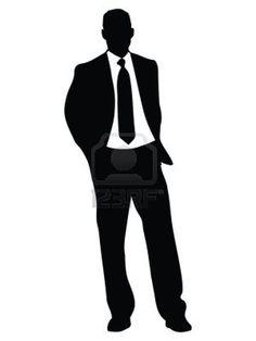 Celebrating Man Silhouette Clip Art | Man Standing Silhouette | Clipart Panda - Free Clipart Images