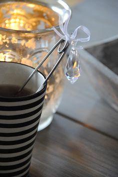 an embellished tea infuser