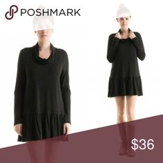 Cowl Neck Tunic Black cowl neck tunic made in the USA rayon and spandex blend. Perfect 👌 top for fall. Comes in sizes small, medium, large, and Xlarge. Fashionomics Tops