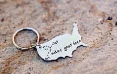 This keychain that will fill your heart with joy every time you see it.