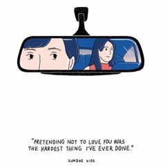 it wasn't the hardest, I've lived long enough that I've got a few hard moments on the list, but it was really really hard to pretend when I was sure it must be written in silent words oozing out of my eyes Cute Couple Comics, Couples Comics, Cute Couple Art, Cute Comics, Cute Couples, Sundae Kids, Relationship Comics, Arte Indie, Cute Love Cartoons