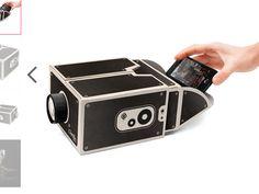 """Der Bausatz """"Smart Phone Projector"""" lässt sich beim britischen Onlineshop prezzybox vorbestellen... © prezzybox.com (Screenshot)"""