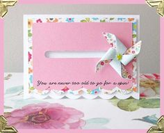 PaperspotUk for Silhouette UK: Pinwheel Penny Slider Spinner Card Pop Up, Fun Fold Cards, Folded Cards, Handmade Cards For Friends, Calligraphy Cards, Stampin Up, Slider Cards, Interactive Cards, Scrapbook Cards