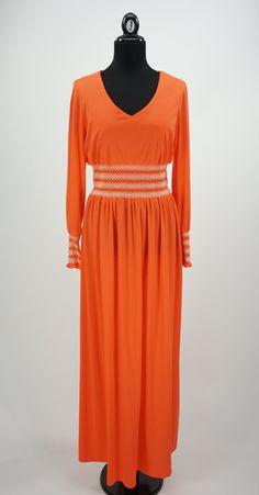 Vintage 1960s Julie Miller California Orange by CeeLostInTime
