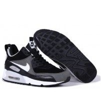 official photos 0ade5 eafbe Air Max 90 Sneakerboot Ice Dark Grey Signal Black White Trainer Outlet