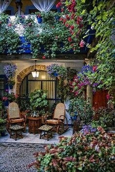 Bello jardín