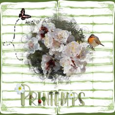 Happy Scrap Arts | A beautiful alpha with insects on each Upper, matches perfectly with the collection Nature. <br />