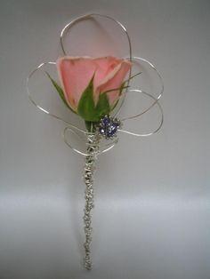 Sweet & Simple rose corsage