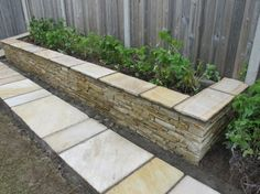 stone beds The Effective Pictures We Offer You About flower garden ideas in front of house sun A qua Rock Planters, Stone Planters, Concrete Planters, Garden Pavers, Garden Retaining Wall, Raised Garden Bed Plans, Building Raised Garden Beds, Stone Raised Beds, Stone Flower Beds