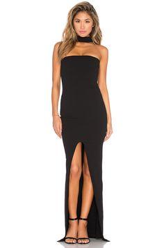 Nookie Cosmopolitan Maxi Dress in Black