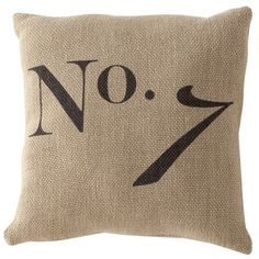 I pinned this No. 7 Pillow from the Shiraleah event at Joss and Main!