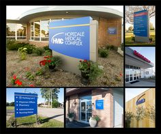 Entry: Best Exterior Solution. Hopedale Medical Complex. Hopedale, IL. ASI, Illinois In 2015, Hopedale Medical Complex (HMC) underwent the most significant construction project in its history. HMC hired ASI to design, fabricate and install a new exterior signage system that greatly exceeded the size and quantity of the previous exterior signage.  Not only does the new sign system clearly direct visitors to their destination, it establishes a bold and cohesive brand throughout the entire…