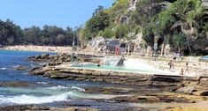One of the great things to do in Sydney is catch the ferry across Sydney Harbour to Manly. It departs regularly from Circular Quay with a 40 minute trip Manly Beach Australia, Manly Beach Sydney, Sydney Australia, Australia Destinations, Beach Waves, Old Photos, Beaches, Dolores Park, Surfing