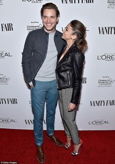 Smitten kitten: The Modern Family star teamed her look with some silver heels with coral a...