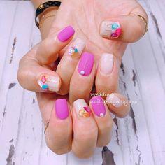 รวมไอเดียแต่งตัวไปคอนเสิร์ต NU EST นิวอีสต์ ด้วยสีโทน Deep Teal และ Vivid Pink Colorful Nail, Nail Colors, Nails, Beauty, Colorful Nails, Finger Nails, Ongles, Beauty Illustration, Nail