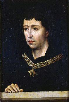 Retrato de Carlos el Temerario - Rogier van der Weyden