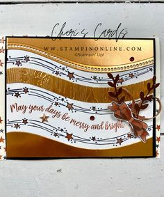 Stampin Up Christmas, Christmas Cards To Make, Xmas Cards, Diy Christmas, Fall Cards, Winter Cards, Stamping Up Cards, Card Tutorials, Card Sketches