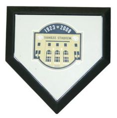 New York Yankees Authentic Hollywood Pocket Home Plate - Yankee Stadium Final Season Logo
